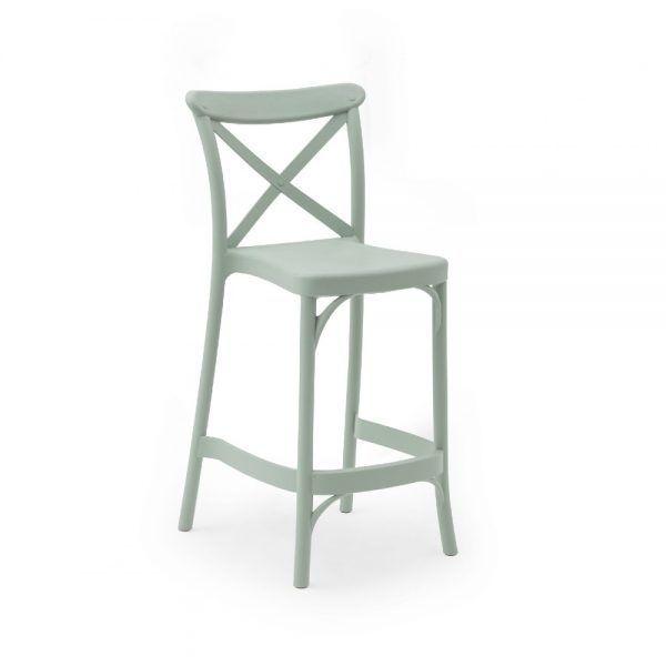 Stol CAPRI Green 65cm